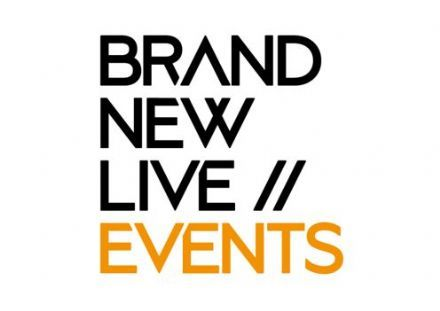 Brand New Live lanceert Brand New Live Events