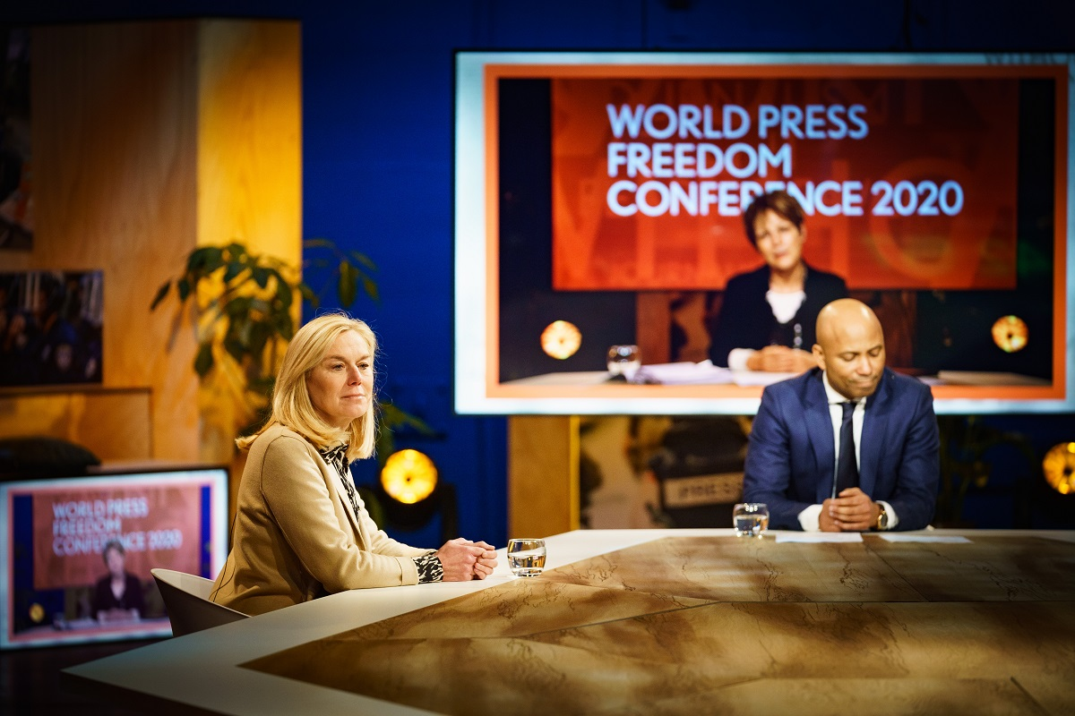 Gouden Giraffe Event Awards 2021: World Press Freedom Conference (WPFC) 2020